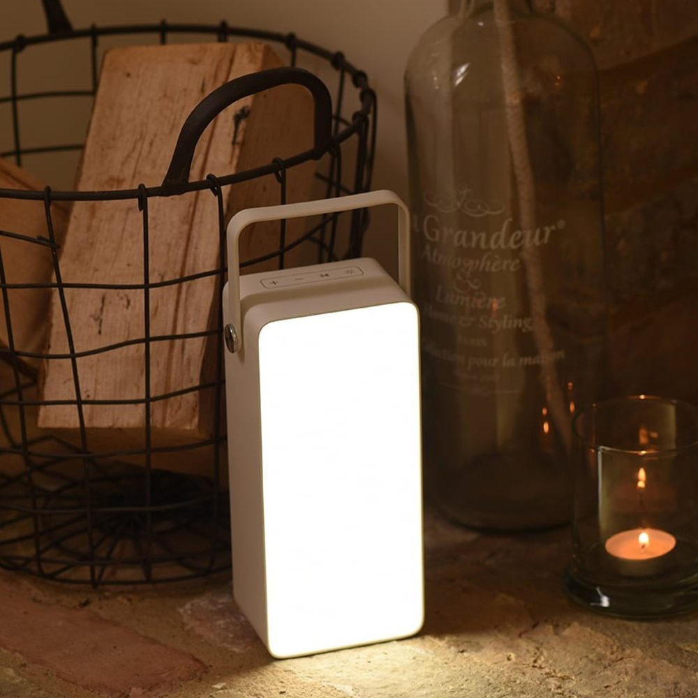 LED Lantern Light Speaker Blok