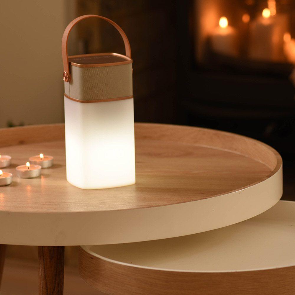 Lucia Speaker Lamp on Table