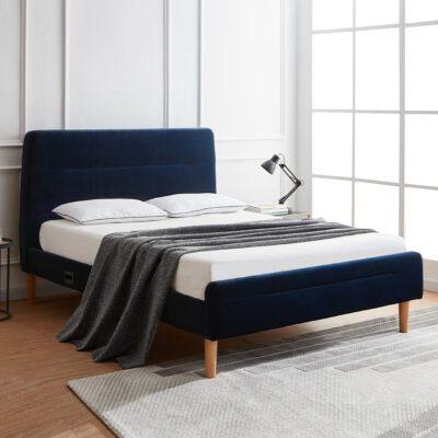 Nodd Smart Bed - Blue Velvet