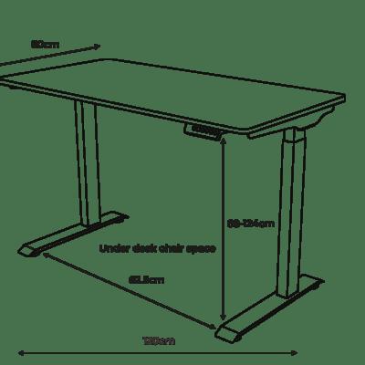 Apollo 2.0 Smart Height Adjustable Desk