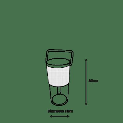 Mantle Bluetooth Speaker Lantern