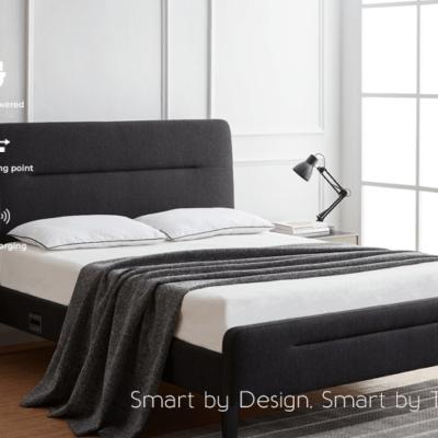 Nodd Smart Bed - Charcoal