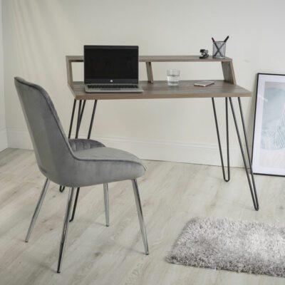 Bea Smart Desk - Grey