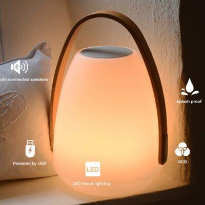 Neptune Bluetooth Speaker Lantern