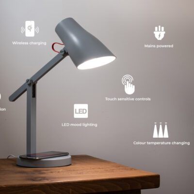 Pixi Wireless Charging Lamp