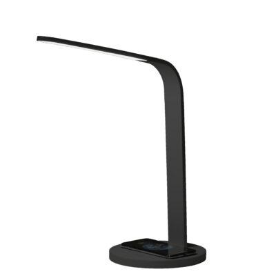 Arc wireless charging lamp in Black
